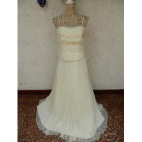 Novia /corset Y Faldon Plizado / Casa Blanca