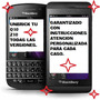 Software Repara O Actualiza Blackberry Z10 & Q10 Unbrick