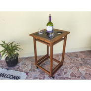 Banqueta Porta Copos // Mesa Porta-copos