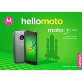 Moto G5 Plus, 4g, 32 Gb, Cámara 12mp Y 5mp, Nuevos Y Libres.
