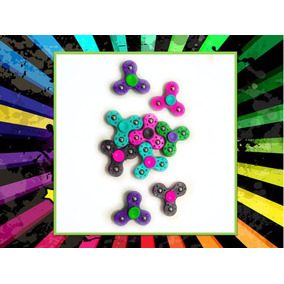 Spinner Irrompible Colores Brillantes X 50 U En Caramelera