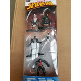 Marvel Spiderman Nano Metalfigs Paquete De 5