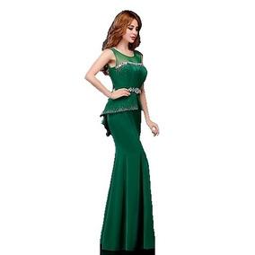 Vestido Formal Elegante Corte Sirena Excelente Calidad.