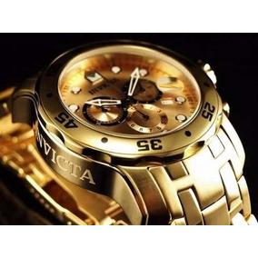 Relógio De Luxo Invicta Pro Diver Scuba 0074 Original 12x