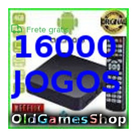 Tvbox Emulador Snes Megadrive Neogeo+n64 16000 Envio P Email