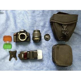 Nikon D3200 10mil Cliques Com Acessorios