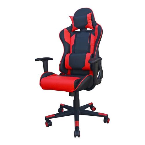 Silla de escritorio Desillas Pro Legend gamer  negra y roja