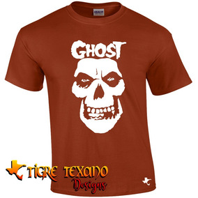 Playera Bandas Ghost B. C. Mod. 08 By Tigre Texano Designs