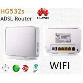 3 Equipos Modem Router Wi-fi Huawei Hg532s Adsl3