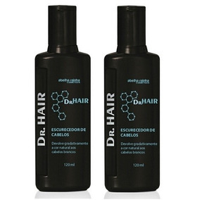 Escurecedor De Cabelos Dr. Hair 2 Unidades Abelha Rainha