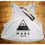 Blusa Cropped 30 Seconds To Mars Feminina Regata Camiseta