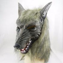 Máscara Lobisomem Fantasia Halloween Adultos Pronta Entrega