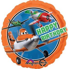 Disney Planes Feliz Cumpleaños Estándar 17 \