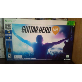 Guitar Hero Live Xbox 360 Guitarra + Jogo - Pronta Entrega