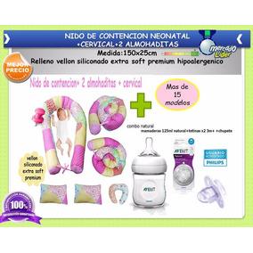 Kit Avent Natural+nido Contencion+cervical+2 Almohaditas