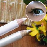 Lapiz Delineador Blanco Iluminador Ojos Cejas Microblading