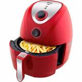 Fritadeira Philco Air Fry Saúde Inox Ph3,2l Vermelha 110v