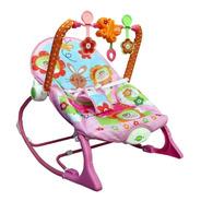 Cadeira Descanso Baby Vibratória Bebê Musical Som Balanço
