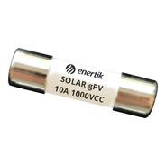 Fusible Solar 10x38mm Gpv 1000vcc 10a - Sfus-10 - Enertik