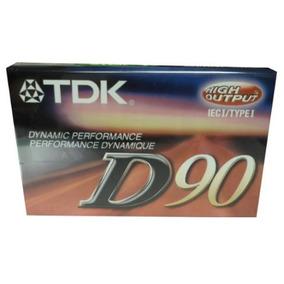 Cassette De Audio 90 Min Tdk D90 V6031