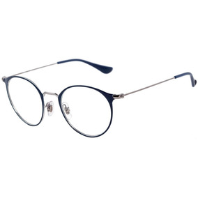 Óculos Redondo Armação Para Grau Ray Ban Oculos - Óculos no Mercado ... 23b10870d8
