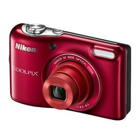 Camara Digital Nikon Coolpix L32 20.1mpx 5x 3.0lcd
