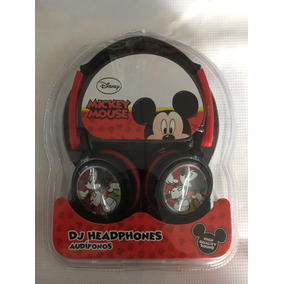 Audífonos Dj Mickey Mouse Para Niño Originales Envió Gratis