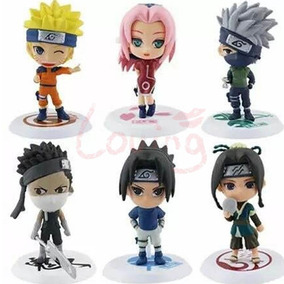 Miniatura Naruto Shippuden De Coleção C/ 6 Peças