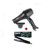 Kit Secador Profissional Smart +chapinha Taiff 12xs/juros