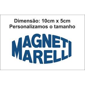 Adesivo Magneti Marelli Fiat Logo Tamanho Personalizável