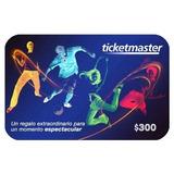 Tarjetas Digitales De Regalo Ticketmaster