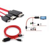 Cable Hdmi A Micro Usb Mhl - Adaptador Para Celular Tablet