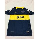 Camiseta Boca Juniors 2017 - 2018 Niños Excelente Calidad