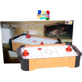 Mesa Hockey Portatil Chh Madera Hockey Air Table Game Cf