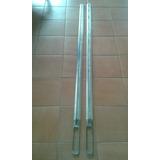 Platinas Laterales Linea Cajon Para Ford F100 De Aluminio
