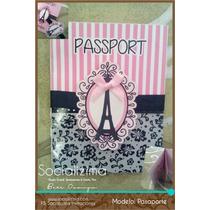 Invitación Tipo Pasaporte
