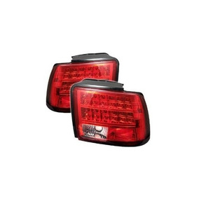Spyder Ford Mustang 99-04 Luces Traseras Led - Rojo Claro