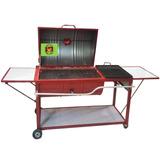 Azador Tambo Gas Y Carbon Con Comal Mesas Abatibles P314