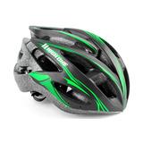 Capacete De Ciclista Com Viseira Embutida - Ciclismo no Mercado ... 0090474c8a55b