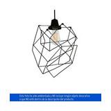 Lámpara Deco Colgante Origami 1 Luz Rosca E27 60w Vintage Il
