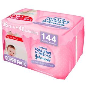 Johnsons® Baby Toallitas Húmedas Extra Cuidado 144 Unidades