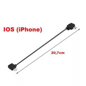 Lightning (iphone) - Cabo Otg 20,7cm Para Spark/ Mavic Pro