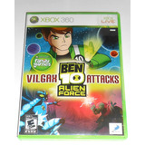 Ben 10 Alien Force Vilgax Attacks Original Xbox 360