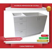 Bajo Mesada + Alecena + Mesada Con Bacha + Instalacion