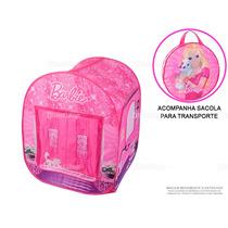 Barraca Toca Infantil Barbie - Fun Diversão - Pronta Entrega