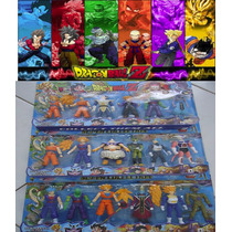18 Bonecos Dragon Ball Z Kit Dragonball Anime Articulados