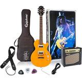 Paquete Guitarra Electrica Epiphone Slash Afd Les Paul