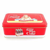 Lata Rectángular Coca Cola Classic Ppr Vintage Casa Valente