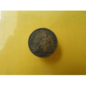 Moneda Antigua 50 Centavos 1927 Francia