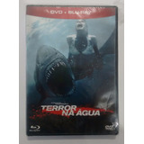 Dvd Terror Na Aguá Dvd + Bd